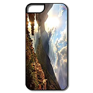 IPhone 5 5S Cases, Lake White/black Cases For IPhone 5 by supermalls
