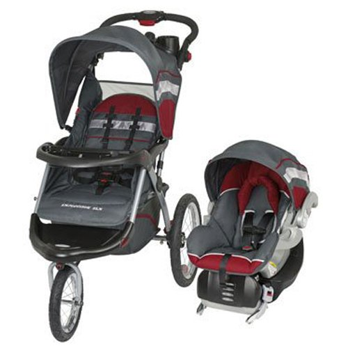 Jogging Stroller Baby Trend Expedition Elx - 1