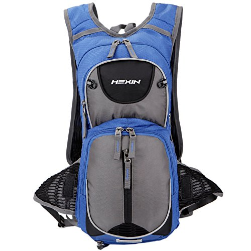 HEXIN Hydration Pack Insulated Backpack for Water Storage Bladded Outdoor Backpack for Running,Cycling,Climbing