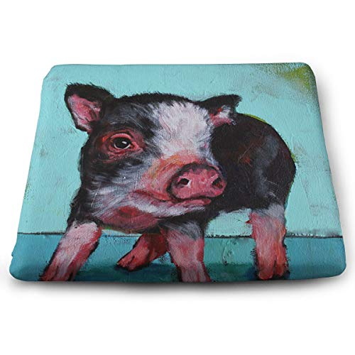 Comfortable Seat Cushion Chair Pad Pig Baby Painting Perfect Memory Foam Cushions Lighten The -