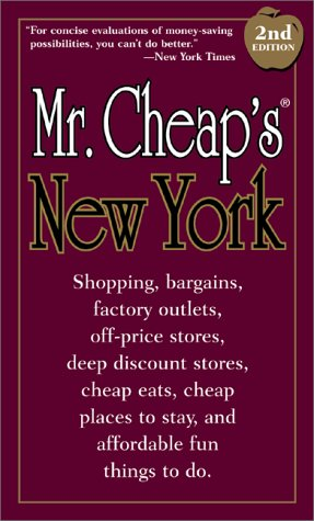 Mr. Cheap's New York, 2nd Edition pdf