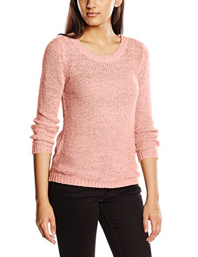 Felpa L Keen s Noos Donna Knt Pullover Xo Onlgeena Peachy Rosa Only 1qx4P40