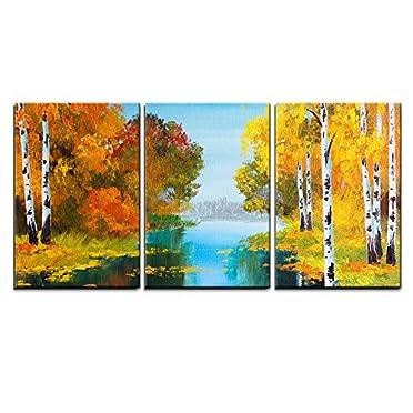 3 Piece Canvas Wall Art Oil Paint Canvas Art