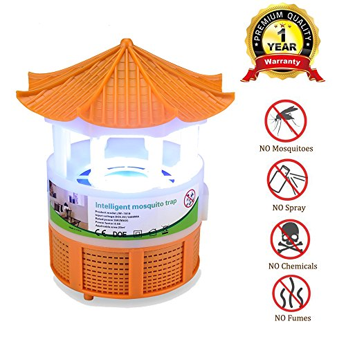 Ylovetoys Bug Zapper Mosquito Trap Killer Light, Electronic Insect Mosquito Killer Lamp for Indoor Outdoor Mosquito Fly Insect Killer – For Residential and Commercial Use