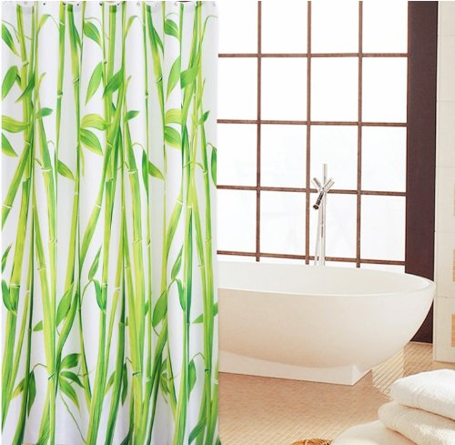 ric Shower Curtain with Rings ()