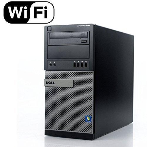 Dell Optiplex 990 Desktop Computer, i7 upto 3.8GHz CPU, 16GB DDR3 Memory, New 512GB SSD, WiFi, Windows 10 Pro (Certified Refurbished)