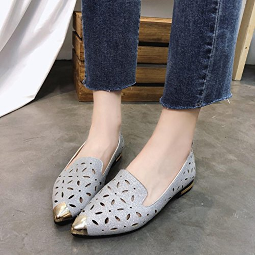 5311670e5ec8 DENER Womens Ladies Girls Summer Flat Shoes