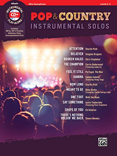 Pop & Country Instrumental Solos Alto Saxophone: Book & CD (Instrumental Solos Series)