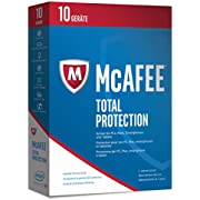 McAfee Total Protection 2017 - 10 Geräte Minibox [Online-Code]