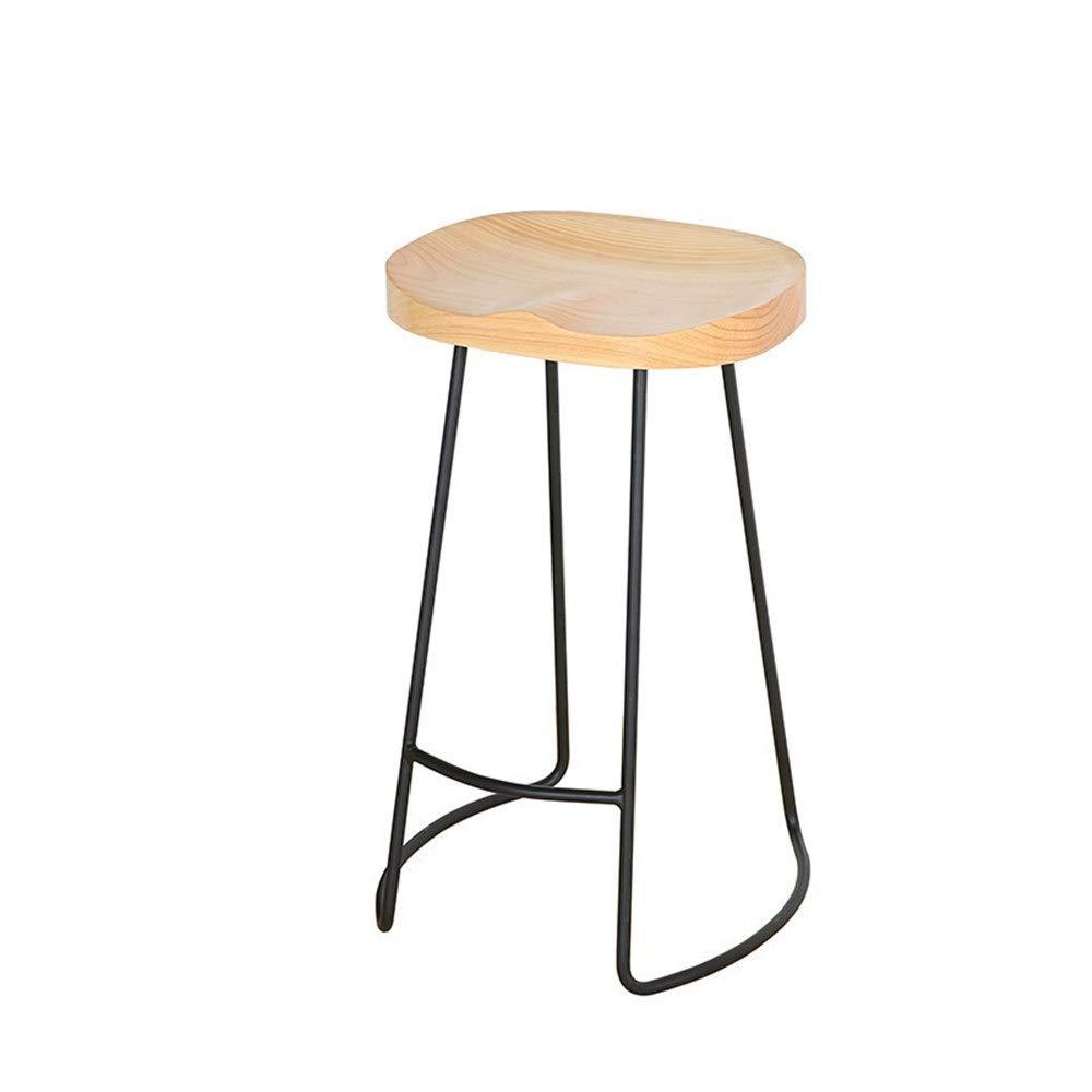 bois 354575cm Tabouret de bar ajustable Tabouret de bar rétro Tabouret de bar solide Tabouret de bar solide Chaise de bar en bois Chaise haute en fer forgé Chaise de bar sur mesure dossier, tabouret tournant en hau