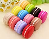XYTMY Fake Macaron France Style High Simulation Artificial Dummy French Macaroon Studio Prop DIY Decoration Accessories, 12 PCS