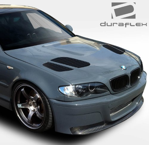 Duraflex ED-TIM-412 GTR Hood - 1 Piece Body Kit - Compatible For BMW 3 Series 2002-2005