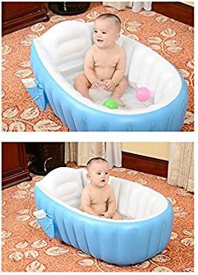 FGASAD - Bañera Inflable portátil para bebé, Piscina para ...