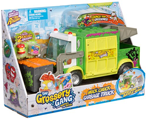 Grossery Gang The Putrid Power S3 Muck Chuck Garbage Truck