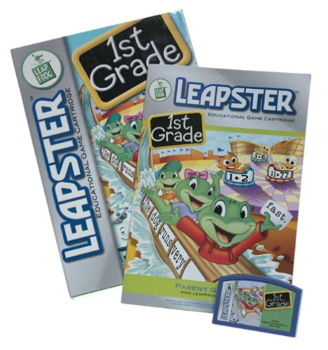 LeapFrog  Leapster Learning Game: 1st Grade by LeapFrog