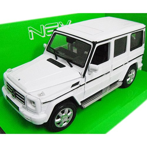 完売 ノーブランド品 Mercedes-Benz Welly G-Class 1/24 B01C3MCMM6 White 1/24 Welly [並行輸入品] B01C3MCMM6, S@GUARD:39b68153 --- test.ips.pl
