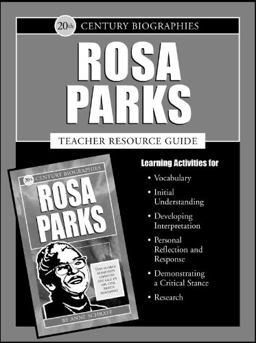 Download Rosa Parks (20th Century) Teacher's Guide (Biographies of the 20th Century) pdf