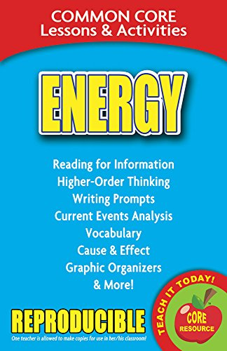 Energy - Common Core Lessons and Activities