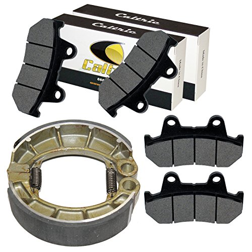 CALTRIC FRONT and REAR BRAKE PADS FIT Honda VF700C Magna 700 1984/VF700S Sabre 700 (Honda Vf700s Sabre)
