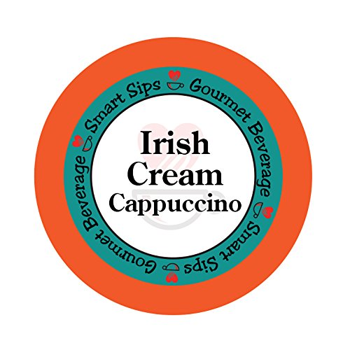 Smart Sips, Irish Cream Cappuccino, 24 Count, Compatible With All Keurig K-cup Brewers (Best Cinnamon Rolls San Francisco)