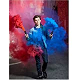 Spider-Man:THIS IS NOT SMOKE CANS Homecoming (2017THIS IS A PHOTO) 8 inch by 10 inch PHOTOGRAPH Tom Holland Full Body kn
