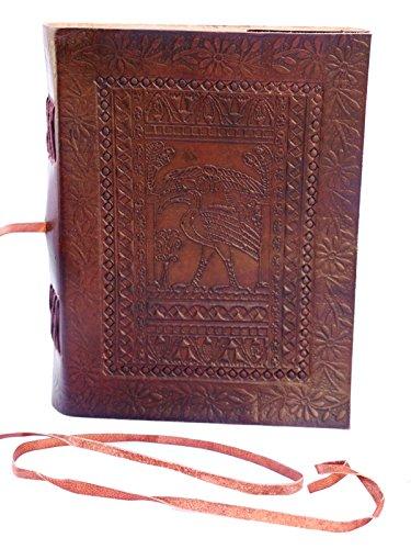 QualityArt Handmade Distressed Leather Journal Indiana Jones Diary Sketchbook 8 x 6 Christmas gifts