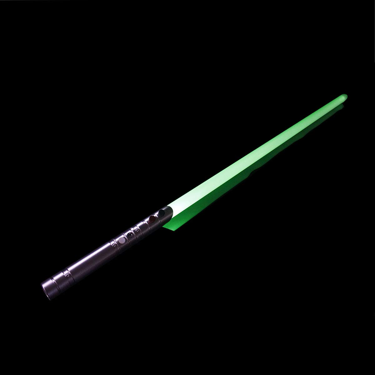 YDD Jedi Sith LED Light Saber Force FX Heavy Dueling Lightsaber with Blaster Lock-up Sound and Flash on Clash Light, Metal Hilt, Color Changing, Christmas Toy for Kids (Silver Hilt Color Changing) by YDD (Image #1)