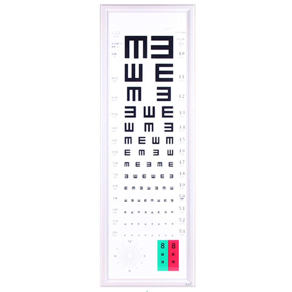 LED Standard Logarithmic Eye Chart Light Box 5 Meters Adult Detection Eye Chart