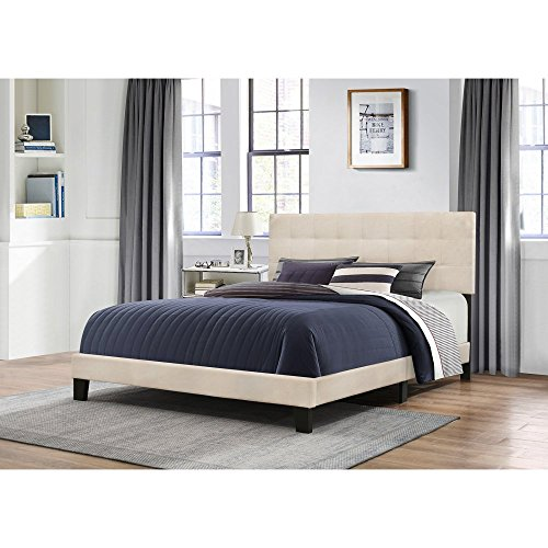 Hillsdale Furniture Platform Bed in One with Linen Fabric an