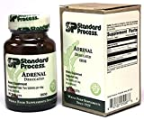 Standard Process- Adrenal Desiccated / Adrenal Support for Energy Production, Immune System Function and Adrenal Health, Gluten Free, 90 Tablets