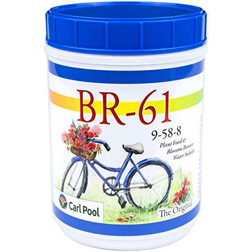 BR-61 Plant Food 9-58-8 3 Lbs (Best Fertilizer For Crepe Myrtles)