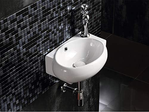 Pi/èce de rechange pour /évier de salle de bain ou cuisine Lot de 5 bagues pour trop-plein de lavabo GoodChanceUK