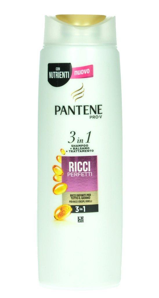 PANTENE SHAMPOO 3IN1 RICCI 225ML P&G
