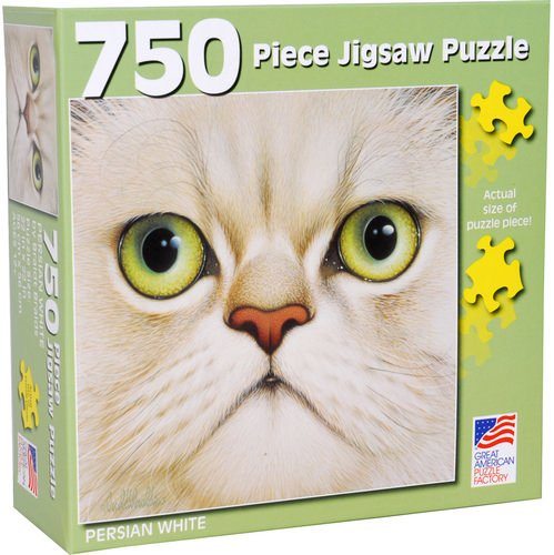 Great American Puzzle Factory Persian Weiß 750 Piece Puzzle
