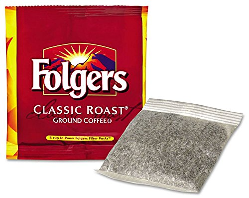 - Folgers Hotel Classic Roast Coffee Packs - 200 Ct.