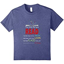 The More That You Read Novelty Tshirt