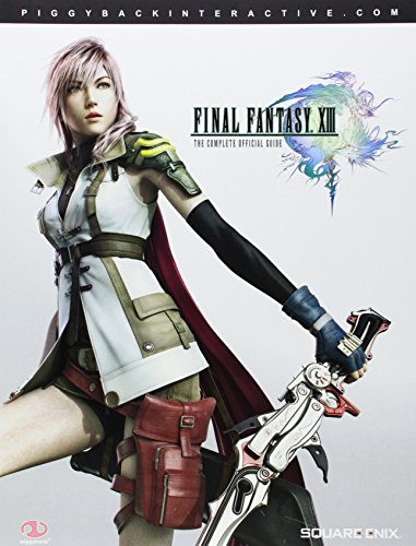 Final Fantasy XIII: The Complete Official Guide (Paperback)-cover
