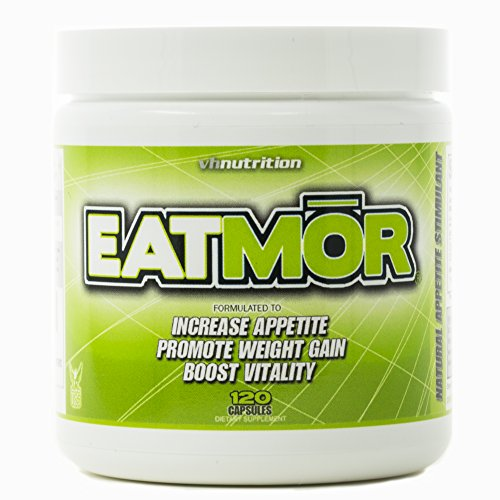 Eatmor Appetite Stimulant | Weight Gain Pills for Men and Women | Natural Orxegenic ()