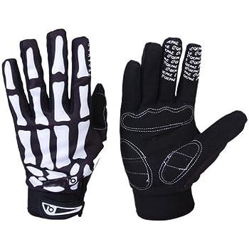 Amazon.com: BudK Skeleton Mechanic Gloves- Large: Automotive