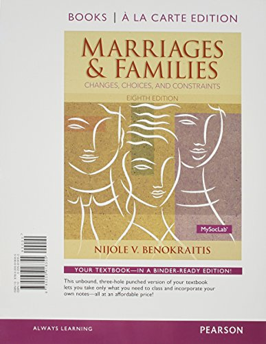 Marriages+Families:Changes...(Loose)