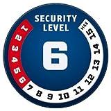 Abus Locks 1385 Key Tressor Chain Lock