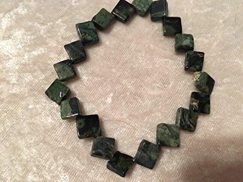 Jasper Diamond Beads - 5