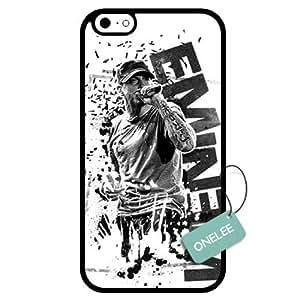 Onelee(TM) - Customized Eminem TPU Apple iPhone 6 Case Cover - Black 10