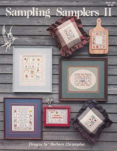 Sampler Counted Cross Stitch Leaflet - Pegasus Originals Sampling Samplers II Counted Cross Stitch Leaflet