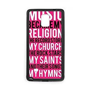 Samsung Galaxy Note 4 Case Black Nirvana Cell Phone Case Cover L7O5JN