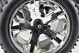 Apex RC Products 4mm Serrated Aluminum Nylon Wheel