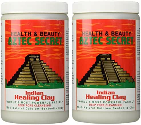 Aztec Secret Deep Pore Cleansing Indian Healing Clay, 2 Count