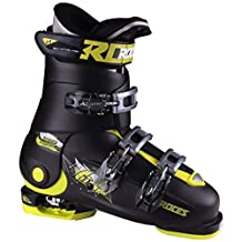 Roces Idea Free Kids Ski Boots 2016 - 2225/Black-Lime Green by Roces