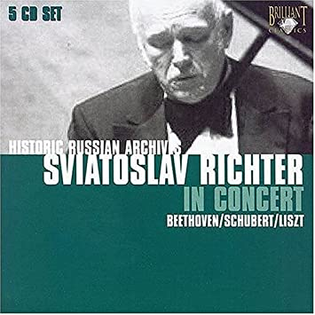 Sviatoslav Richter in Concert; Historic Russian Archives