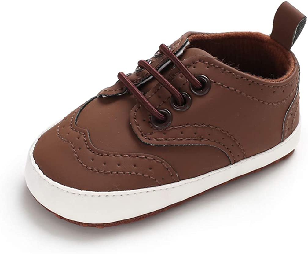 AUPUMI Baby Boys Girls Prewalker Shoes Anti-Slip Cotton Blend Sole Infant First Walker Toddle Sneakers